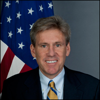 Ambassador Christopher Stevens died in the Benghazi attack on Sept. 11, 2012.