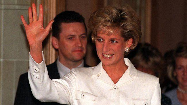 Diana, the late Princess of Wales (file photo)