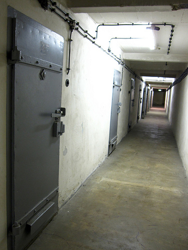 This Stasi prison in Berlin held political prisoners and those were trying to flee East Germany. Credit: Mesq via Flickr