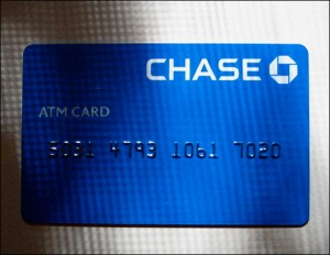 Chase ATM card (Wikimedia Commons)