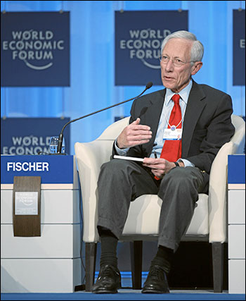 Dual American-Israel citizen Stanley Fischer has sterling globalist credentials. Photo: World Forum