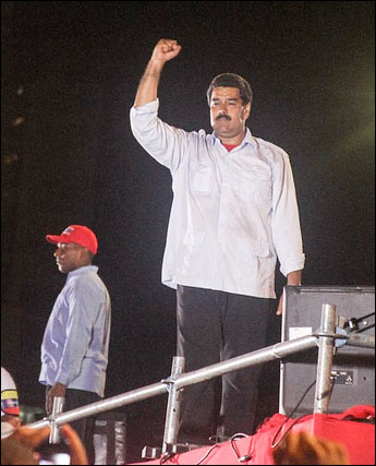 Venezuela's socialist leader, Nicholas Maduro. Photo: Joka Madruga