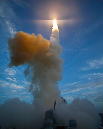 Hundreds of millions of dollars will be doled out to two of the largest welfare recipients on the planet – Boeing and Raytheon – to build Israel's missile defense system. Photo: United States Navy