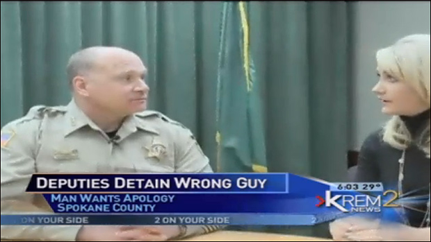 Cop Tells College Grad Youre Lucky I Didnt F ing Shoot You After Raiding Wrong House sheriff