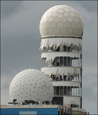 The NSA built one of the largest listening posts near Berlin, Germany. Credit: Jochen Jansen via Wiki