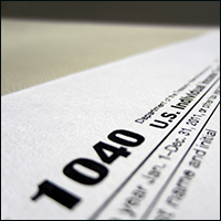 Thieves usually just make up phony income numbers for the tax returns they file. Credit: 401(K) 2012 via Flickr