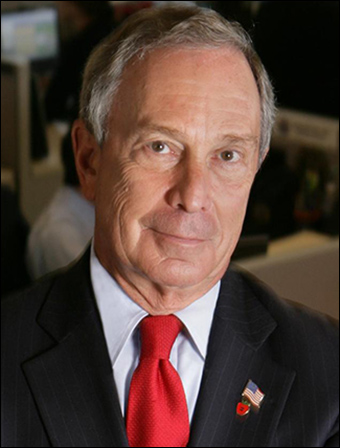 "Former New York City mayor Michael Bloomberg was caught registering the domain name for ""Mayors Against Illegal Guns"" through the New York City Department of Information Technology & Telecommunications."