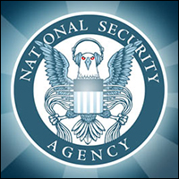 Nothing will stop the NSA from trying to capture all digital data that exists. Credit: EFF via Wiki