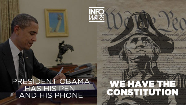 Viral Meme: Obama Has His Pen and His Phone 011614obamameme