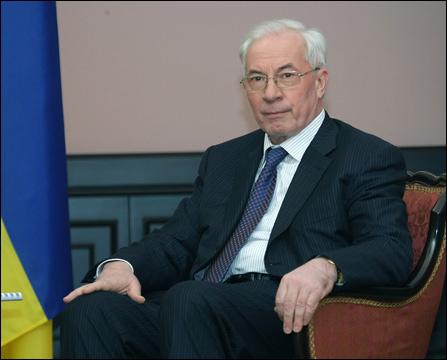 Mykola Azarov had been prime minister since 2010. Credit: Russavia via Wiki