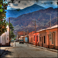 A road in Calle de Tilcara, Argentina, which is in the northern part of the country. Credit: juan_m via Flickr