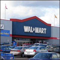 Wal-Mart admits it profits at the expense of taxpayers. Credit: Stu pendousmat via Wiki