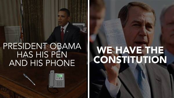 Viral Meme: Obama Has His Pen and His Phone 1526779 692755007431827 1953645417 n