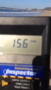 Youtube: High radiation levels seen on Cali. beach