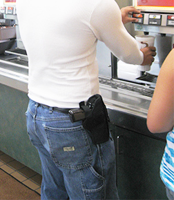 9 1 1 to Caller: Its Not Illegal to Open Carry Pistol carrysoda