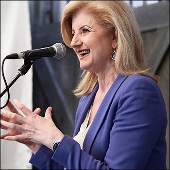 Arianna Huffington Courts Global Elite in Effort to Undermine Alternative Media huffington