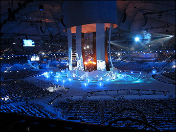 Russian Sochi 2014 presentation at the closing ceremony of the 2010 Olympics