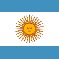 The flag of Argentina was adopted in 1812, but Mamet probably doesn't know that.