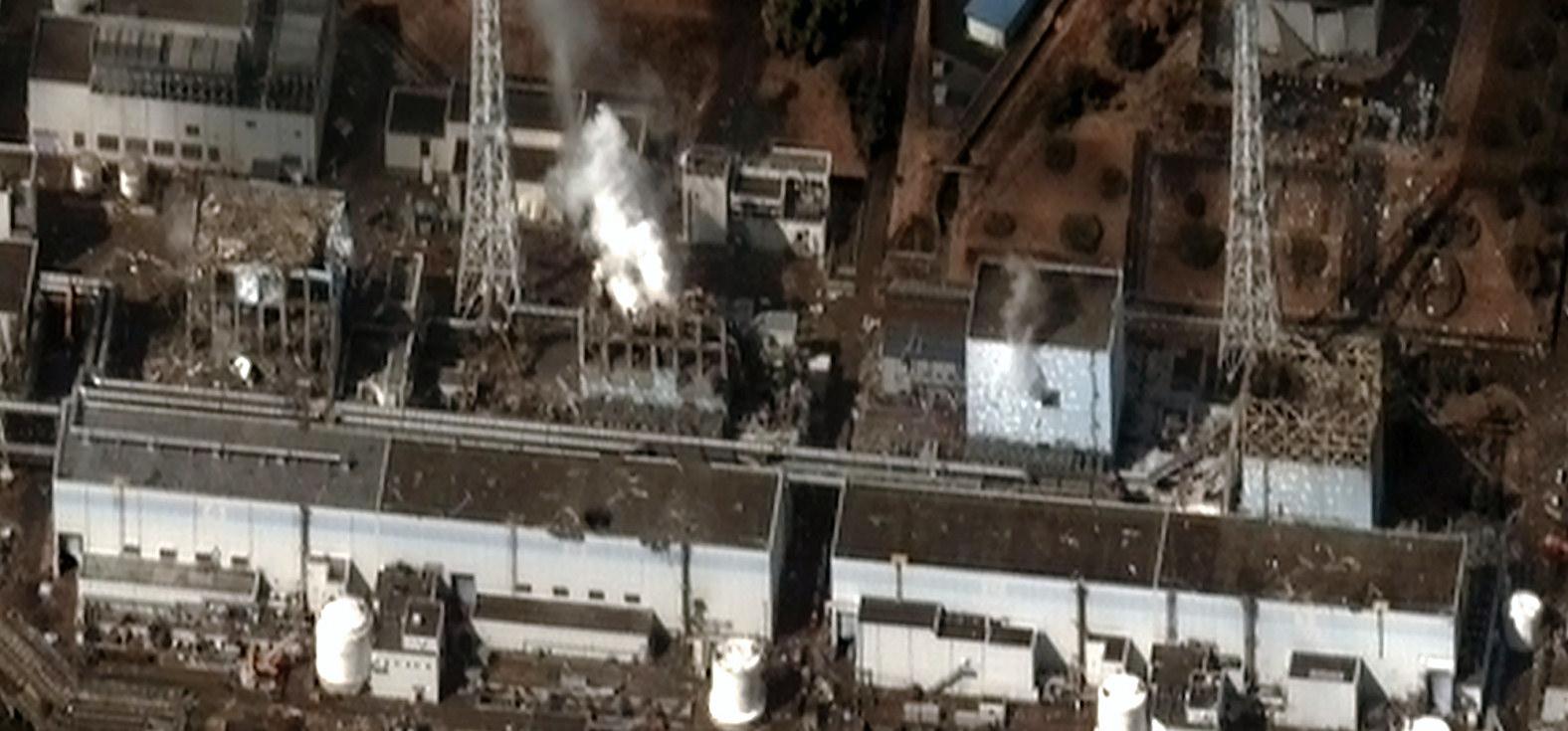 Fukushima Daichii nuclear power plant / Image: Wikimedia Commons