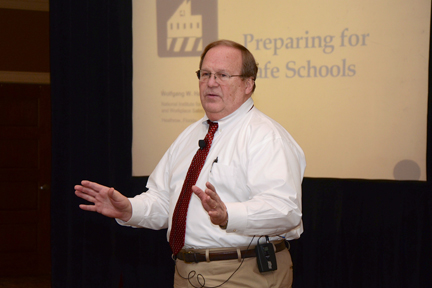 National school safety consultant Wolfgang Halbig.