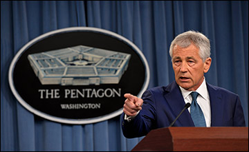 """U.S. Sec. of Defense Hagel said there is no """"one simple answer"""" to the ethical crisis gripping the US military."""