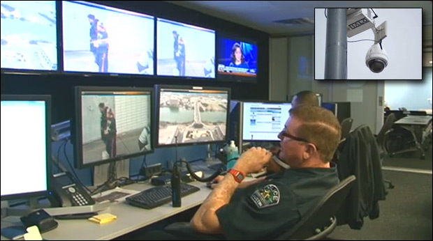 Using the HALO camera system, Austin cops surveil two potential terrorists. / Image: KEYE