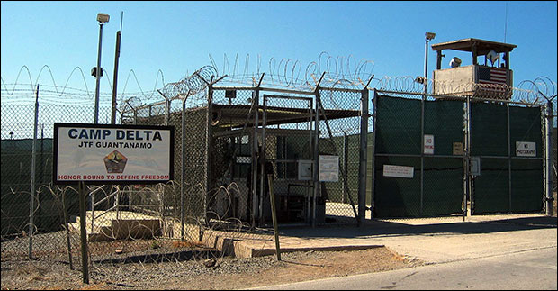 DoD built a secret cell block for noncompliant detainees, alleges lawsuit.