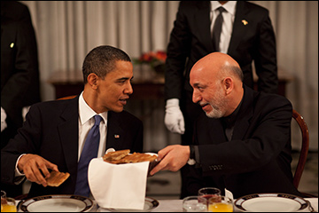 Obama told Karzai by telephone that the Pentagon has little option but to plan for a full pullout.