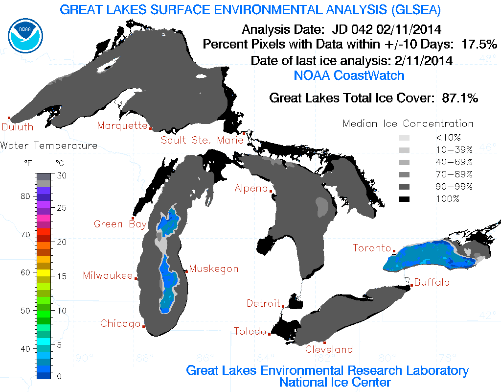 Global Warming? Lake Superior Will Freeze Over this Winter lakesuperior