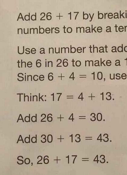 Photo: Common Core Inflicts Anguish on 7 year old Girl math3
