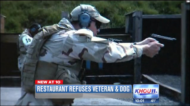 ohayon2 Cops Backed Texas Restaurant That Illegally Kicked Vet, Service Dog Out