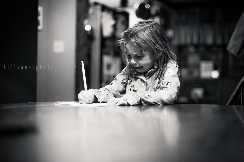 """""""I'm a photographer. This is my daughter…and this is the first photo of her that I have ever hated."""" - Kelly Poynter"""