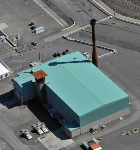 Image: Nuclear Fuel Storage Building (Hanford.gov)