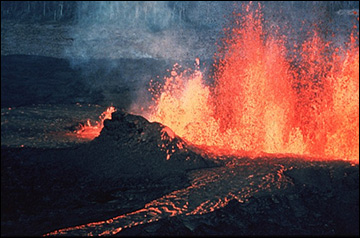 Experts say volcanoes only offer 'temporary respite' from rising temperatures.