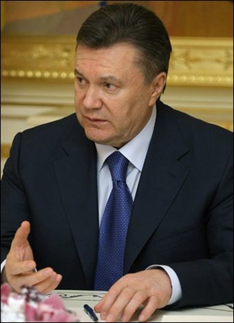 Viktor Yanukovych became president of Ukraine in Feb. 2010. Photo: Premier.gov.ru
