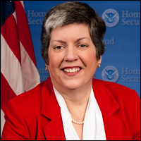 Napolitano was the Secretary of Homeland Security until 2013.