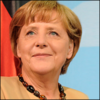 Angela Merkel has been the Chancellor of Germany since 2005. Credit: César / Wiki