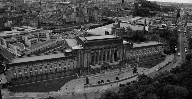 St. Andrew's House is the headquarters building of the Scottish government. Credit: GB_1984 / Flickr
