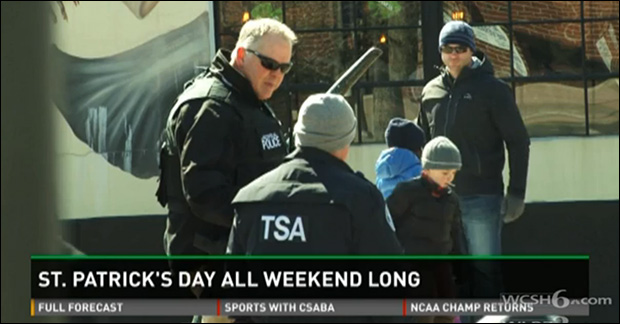 TSA Polices St. Patricks Day Parade TSAparade