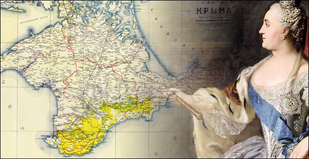In 1783 the Crimea was annexed by Catherine the Great, thereby satisfying the longstanding quest of the Russian Czars.