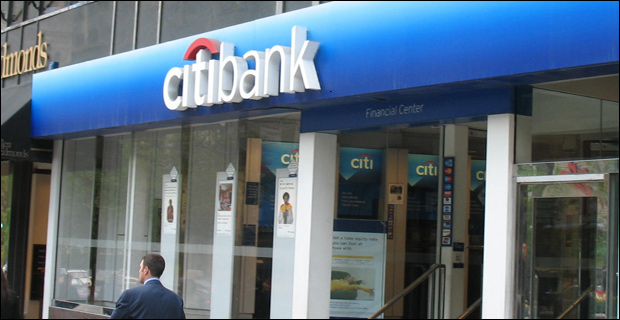 """Citigroup """" not sufficiently prepared to handle a potential financial crisis,"""" says Fed. / Photo by TonyTheTiger at en.wikipedia"""