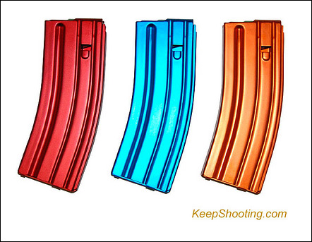 Designer M16 magazines / Photo by keepshooting.com, via Flickr