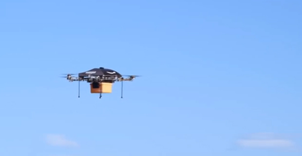 Potential Amazon drone / via YouTube.com