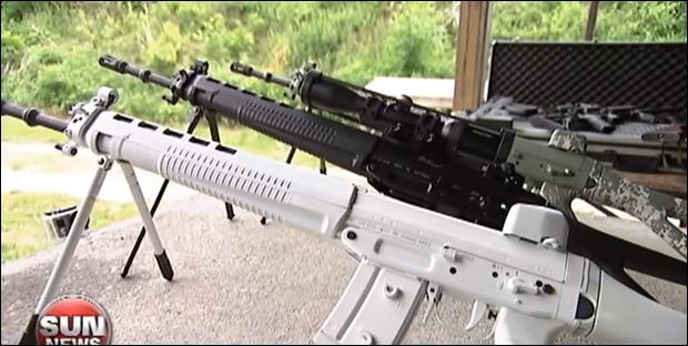 Swiss Arms Classic Green carbine / Image via Sun News