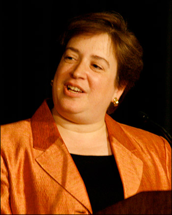 Justice Elena Kagan said other federal regulations are at risk if Obamacare provisions are rejected on religious grounds. Photo: Wikimedia Commons