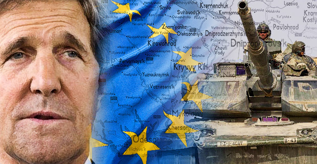 U.S. Rushing Headlong Into War with Russia kerrytanks