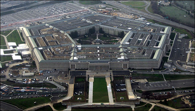 The Pentagon, headquarters of the United States Department of Defense / Photo by David Gleason, via Wikimedia Commons