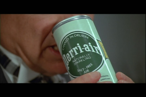 Canned air product appeared in Mel Brooks' 1987 comedy Spaceballs