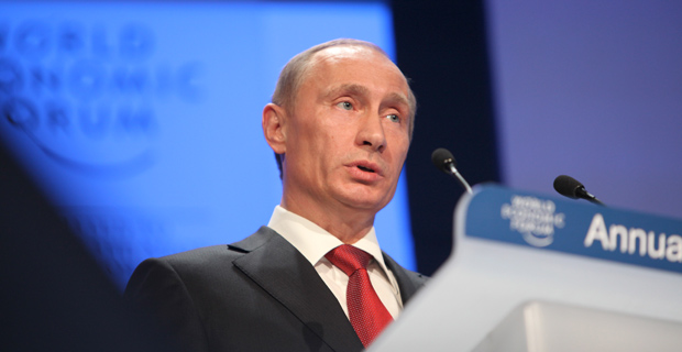 Russian President Vladimir Putin / Credit: World Economic Forum, via Flickr
