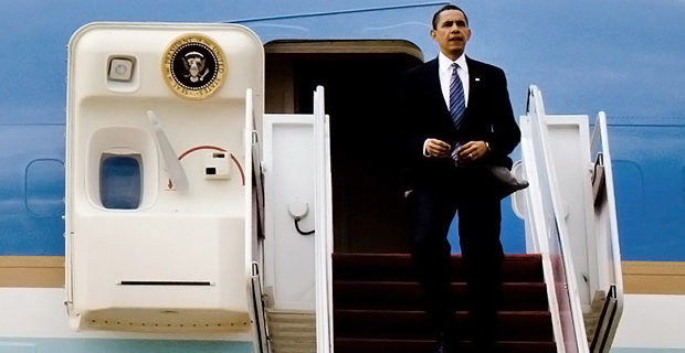 Obama routinely takes very expensive trips.